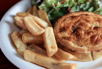 Meat Pies at What the Dickens