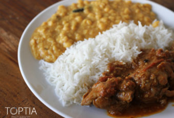 Pakistani Curry and Rice fit for the Neighbors