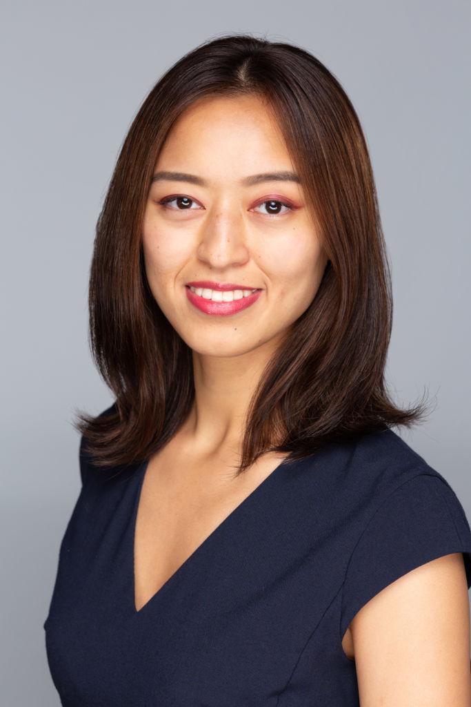 Headshot taken in Tokyo Studio for startup company
